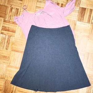 Style & Co A-line skirt